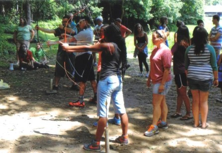 2014 CRT camp archery cropped